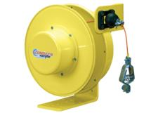 Grounding Reel For Static Discharge, 100 ft of 3/32