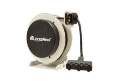 VersaReel® - 16 AWG/3 Conductor, w/Triple-Tap Outlet, 50 ft long  SOOW Cable, 10 amp