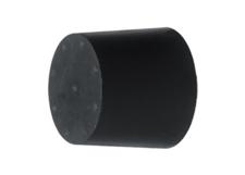 Rubber Bumper, Conical with Internal Thread, 50X50mm 70 Shore A